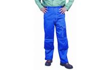 Fire Fox™ kék, égésálló pamut hegesztő nadrág