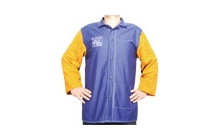 Yellowjacket® kék égésálló hegesztőkabát