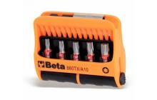 Beta 860TX/A10 10 csavarhúzóbetét és mágneses betéttartó