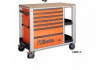 Beta C24SL - 2400SL 7 fiókos szerszámkocsi állítható oldalrekeszek
