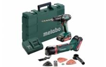 Metabo Combo Set 2.6.2 18 V  Akkus gépek készletben