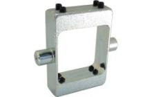 DPBillenő-csapos felerősítés, lapos profilú hengerre