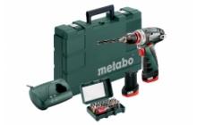 Metabo PowerMaxx BS Basic Set Akkus fúrócsavarozók