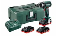 Metabo SSW 18 LTX 400 BL Set Akkus ütvecsavarozók