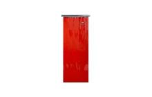 LAVAshield® narancssárga/piros, csíkos hegesztőfüggöny